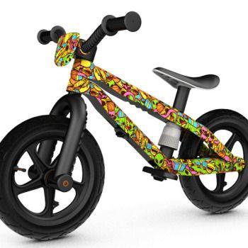 Беговел с дизайном Chillafish BMXie Xplorer (резиновые колеса)