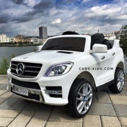 Электромобиль Mercedes-Benz ML350 белый