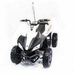Электроквадроцикл спортивный Dongma ATV Brushless 12V - DMD-278A белый  (колеса резина, подвеска, скорость 15 кмч)
